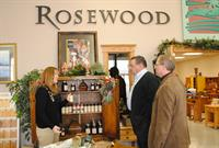 Rosewood Gallery Show Room During Visitor Tour