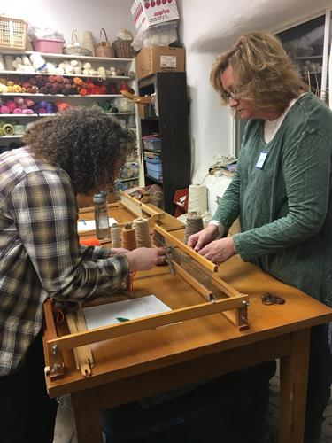 Heartland Farm Fiber Space Weaving + Spinning + Crochet Workshop