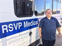 RSVP Non-emergency medical transportation
