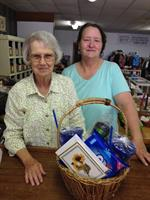 RSVP Thrift Store - Manager Selma Webb and volunteer Martha Boyle