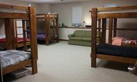 men's dorm area