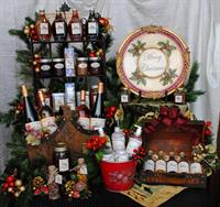 Holiday Cellar Display