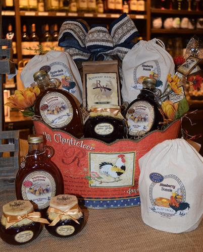 Locally Produced Food Items and Gift Baskets