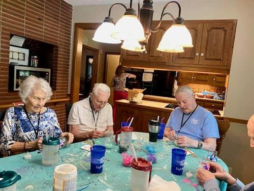 #LiveWell #AgeWell Crafts and activities to keep engaged.