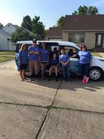 Parade in Hoisington Kansas Magna-Dry Crew