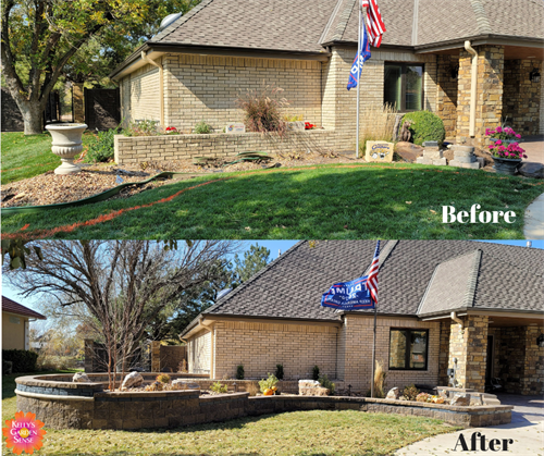 Before and After Landscape Design