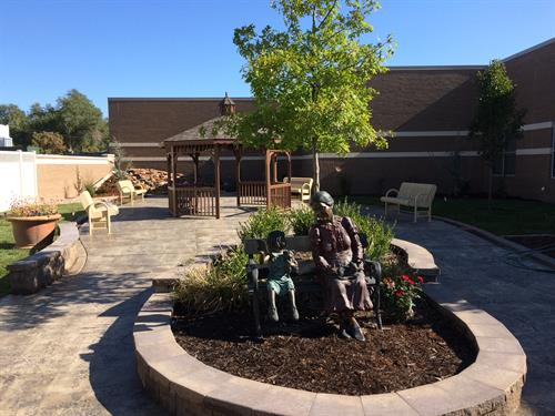 PVCH Foundation Healing Garden