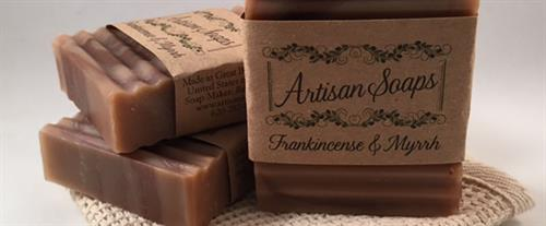 Frankincense & Myrrh Soap Bars