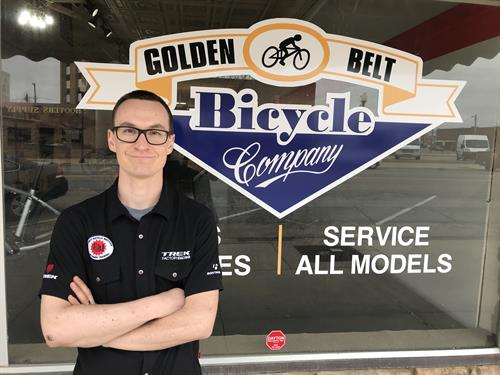 Todd VanSkike, the owner/mechanic of GBBC
