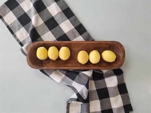 Rustic dough bowls