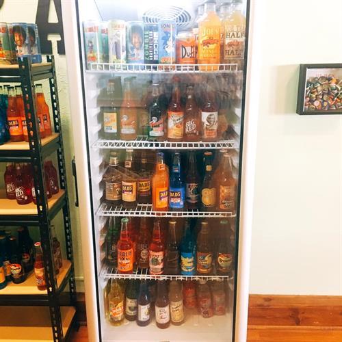Over 45 different flavors Glass bottled soda, Energy Drinks and Lemonades/Teas