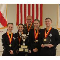 Rifle team members of the Granbury Marine Corps JROTC took the top honors as the 2020 JROTC All Service National Champions