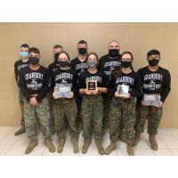 Granbury High School MCJROTC Robotics Team makes finals at their first Robotics Competition