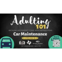 """CHAMBER'S YOUNG PROFESSIONALS PARTNER WITH GHS CTE, CHRISTIAN BROTHER'S AUTOMOTIVE AND FUNKY MUNKY SHAVED ICE  FOR """"ADULTING 101: BASIC CAR MAINTENANCE"""""""
