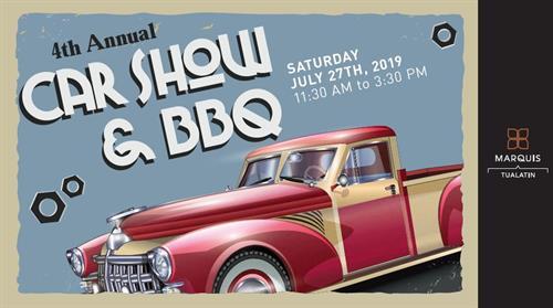 Car Show & BBQ - Jul 25, 2020 - Tualatin Chamber of Commerce