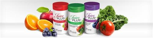 Juice Plus+® is 28 different Fruits, Berries & Vegetables in Capsules!. Take one of each in the AM & one of each in the PM ... that's It!!
