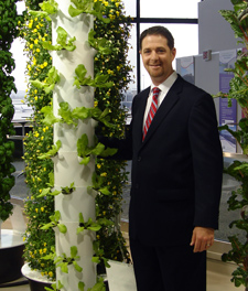 Tim Blank, Creater of the Tower Garden®  owner of Future Growing LLC.