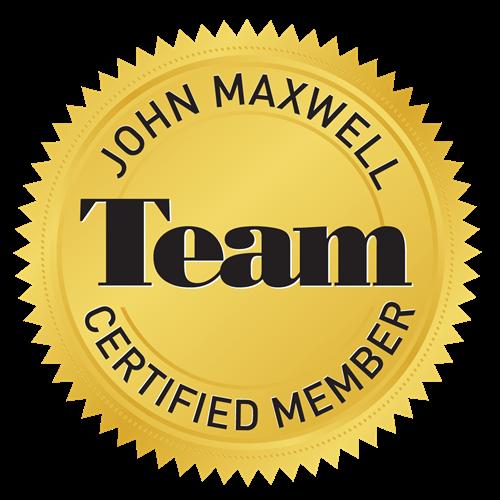 Certified John Maxwell Team Coach, Speaker, Trainer