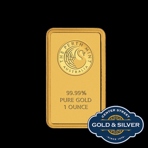 Perth Mint One oz Bullion Gold Bar