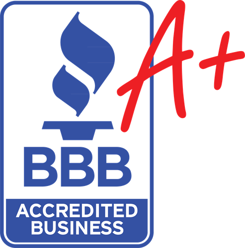 A+ BBB Rated Over 50 Positive reviews