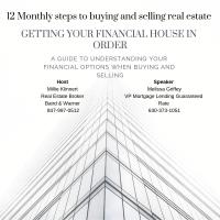12 Monthly steps to buying and selling real estate