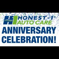 Honest - 1 Auto Care ANNIVERSARY CELEBRATION