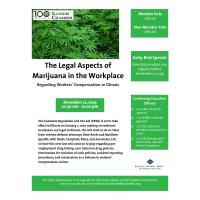 The Legal Aspects of Marijuana in the Workplace Regarding Workers' Compensation in Illinois