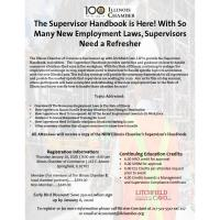 The Supervisor Handbook is Here! With So Many New Employment Laws, Supervisors Need a Refresher
