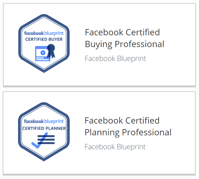 Facebook Certified Professionals