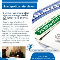Interpretation Services | Immigration | USCIS appointments