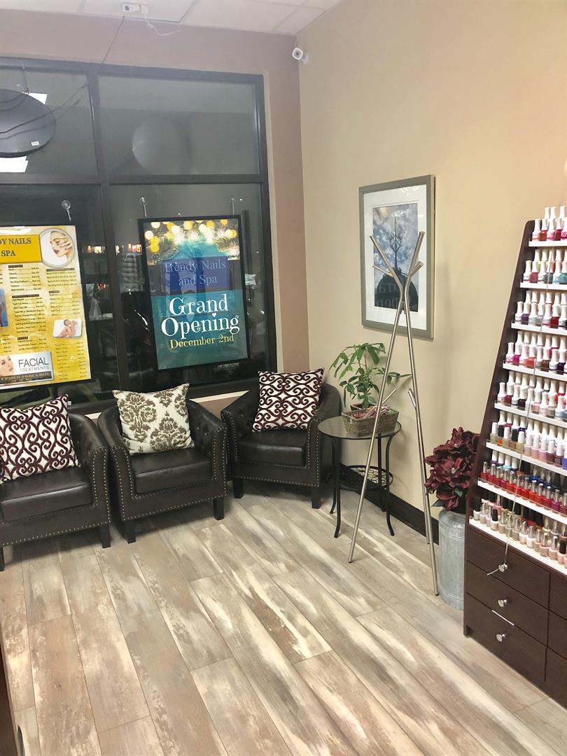 Nail Salon Waiting Room