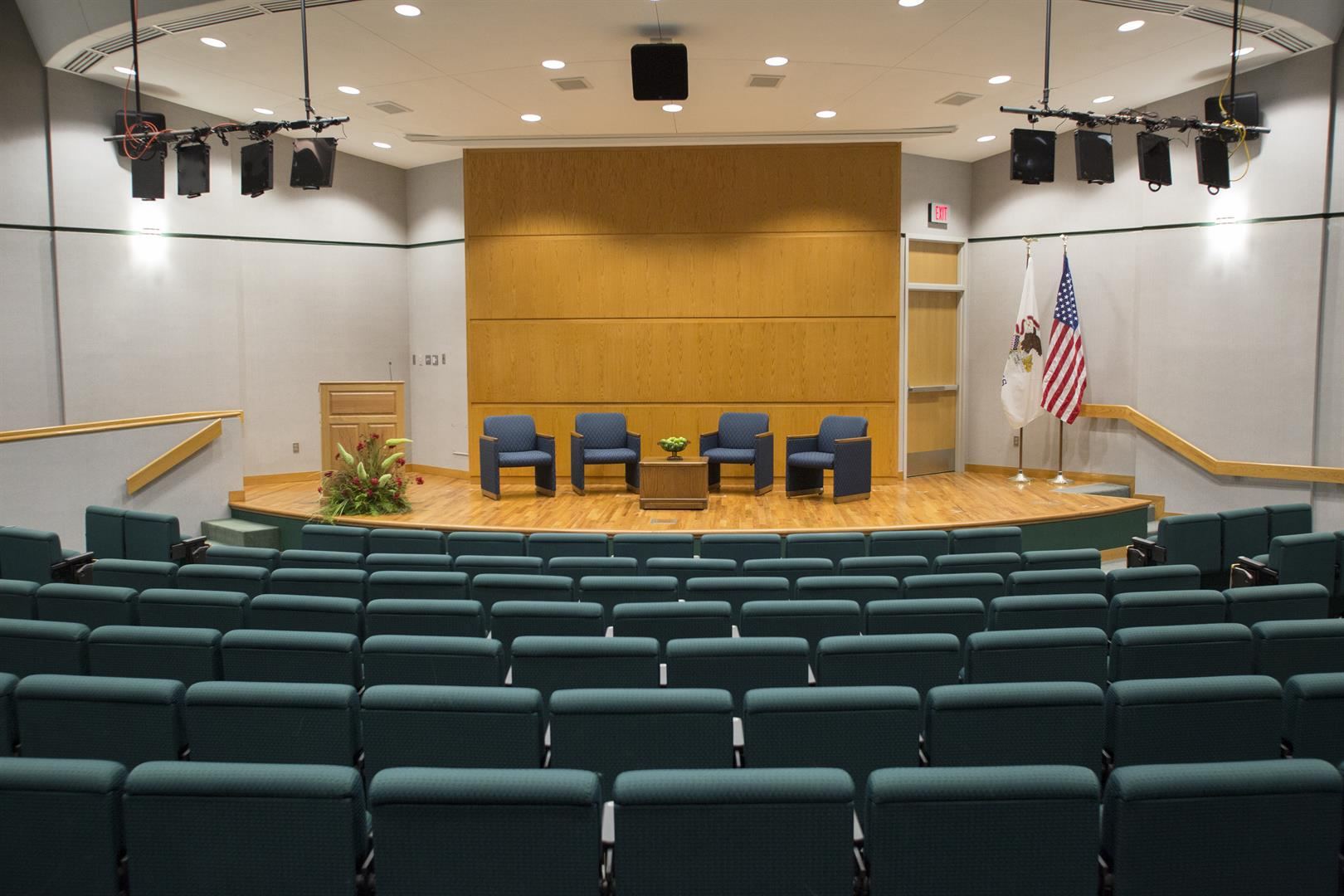 NIU Rockford Auditorium