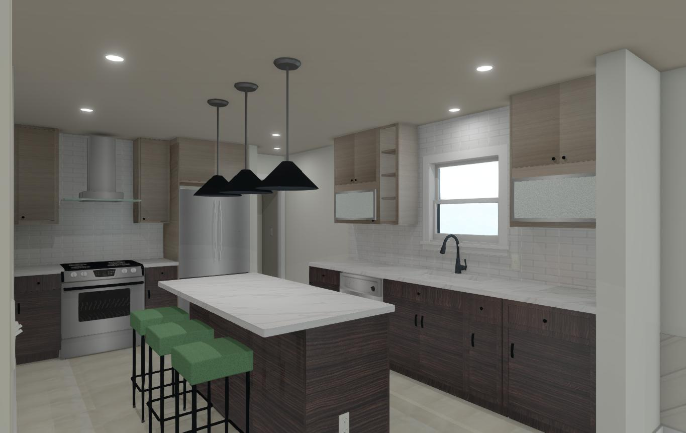 3D rendering new project in Berwyn, IL