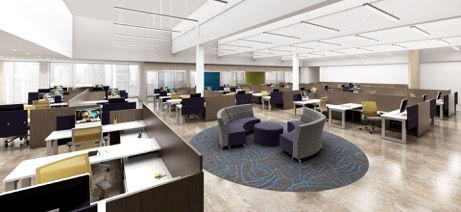 From conventional to innovative design, our staff is equipped to design and build your dream office space.