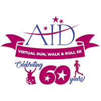 AID Virtual Run, Walk & Roll 5K