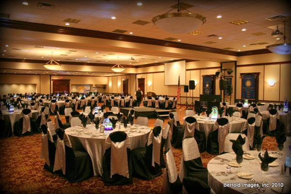 Ballroom Awards Ceremony