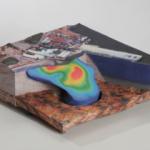 Full color 3D printing, geo-map