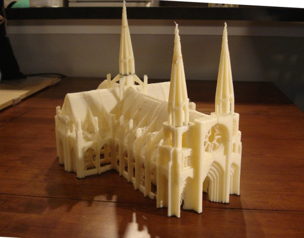 3D printed church