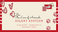 """Anderson Humane's """"For the Love of Animals"""" Silent Auction"""