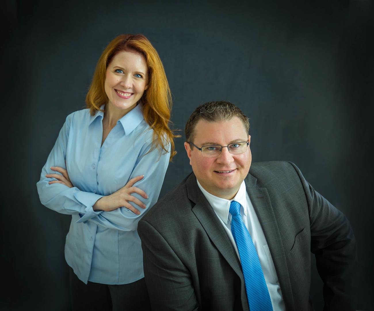Taylor Garner CFP® and Stacie Barnett Branch Office Administrator