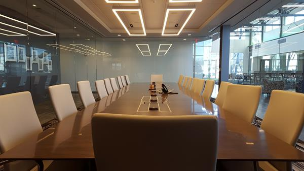 The Executive Conference Room of FMA, just down the hall from the office of our CEO & President, Ed Youdell.