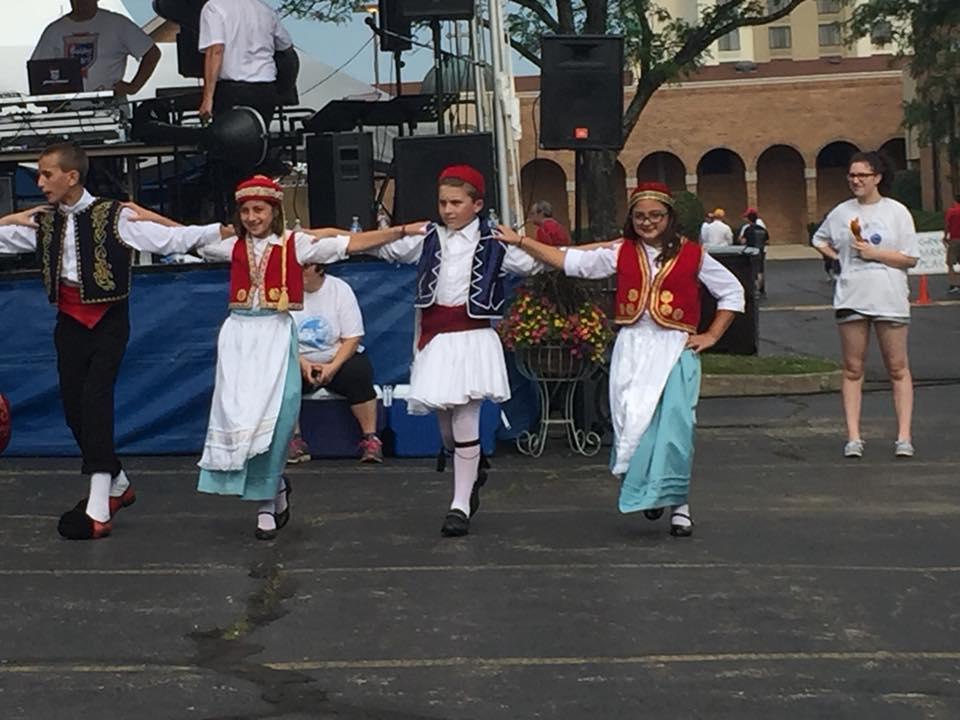 Greek Fest Dansers