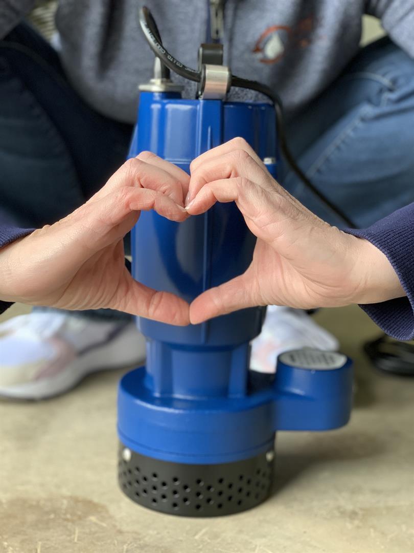 We love our Sump Pumps!