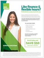 H R Block Income Tax Course 50 Discount Elgin Area Chamber Of