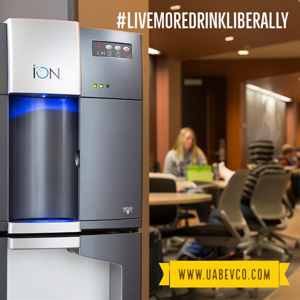 Save$$$$ & GO GREEN w the Ion bottleless water cooler
