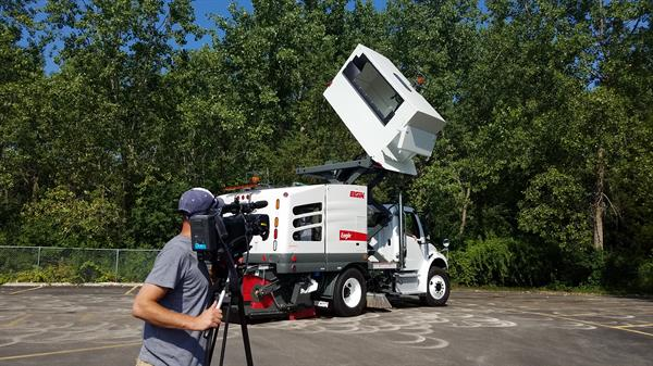 Excited to be working with Elgin Sweeper on product promotions videos