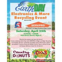 EARTH DAY - Electronics & More Recycling Event