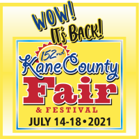 Kane County Fair to be held July 14-18, 2021