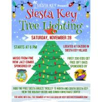 Siesta Key Tree Lighting & Other Activites!
