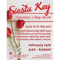 Siesta Key Valentine's Day Stroll
